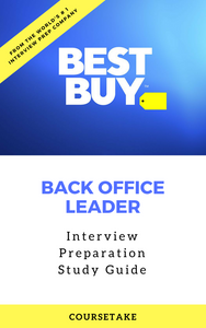 Best Buy Back Office Leader Interview Preparation Study Guide