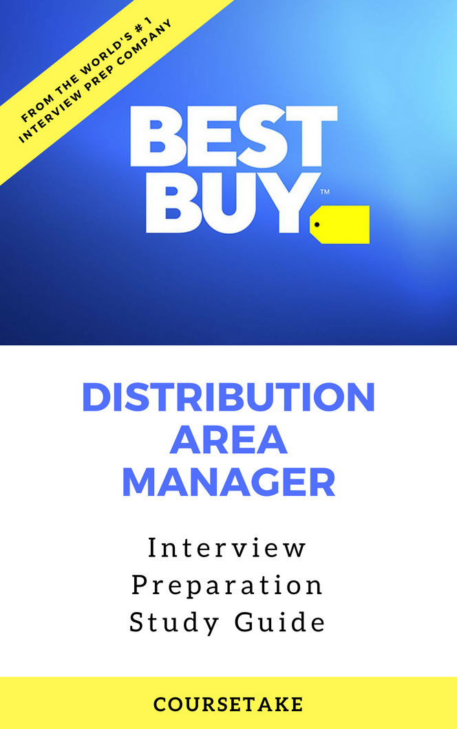 Best Buy Distribution Area Manager Interview Preparation Study Guide