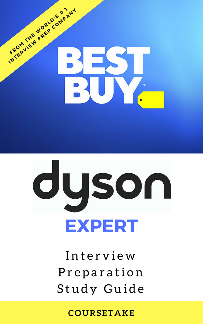 Best Buy Dyson Expert Interview Preparation Study Guide