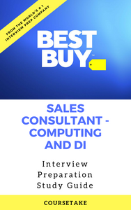 Best Buy Sales Consultant - Computing and DI Interview Preparation Study Guide