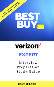 Best Buy Verizon Expert Interview Preparation Study Guide