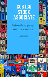 Costco Stock Associate Interview Preparation Online Course