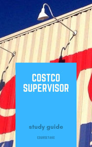 Costco Supervisor Interview Preparation Study Guide