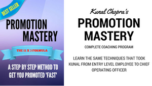 Promotion Mastery