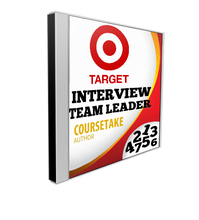 Target Team Leader Interview Preparation Course (with Workbook)