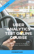 Uber Analytics Test Full Online Course