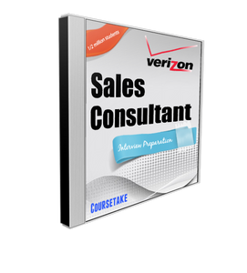 Verizon Retail Sales Consultant Interview Preparation Course (with Workbook)