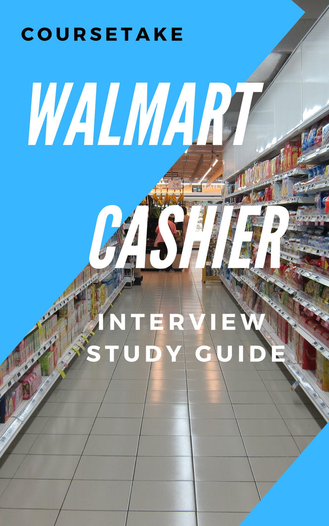 Walmart Cashier Interview Preparation Study Guide