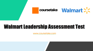 Walmart Leadership Assessment Test Online Course