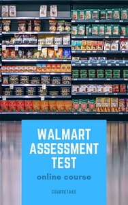 Walmart Assessment Test Online Course