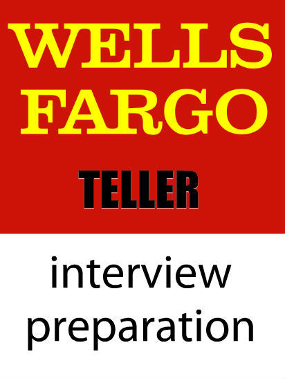 Wells Fargo Teller Interview Preparation Course With Workbook