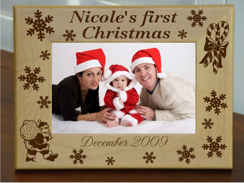 First Christmas Frame