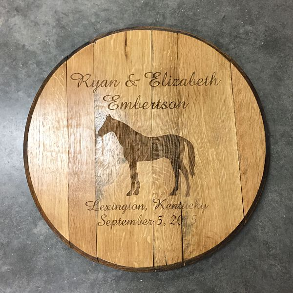 Horse Country Barrel Head