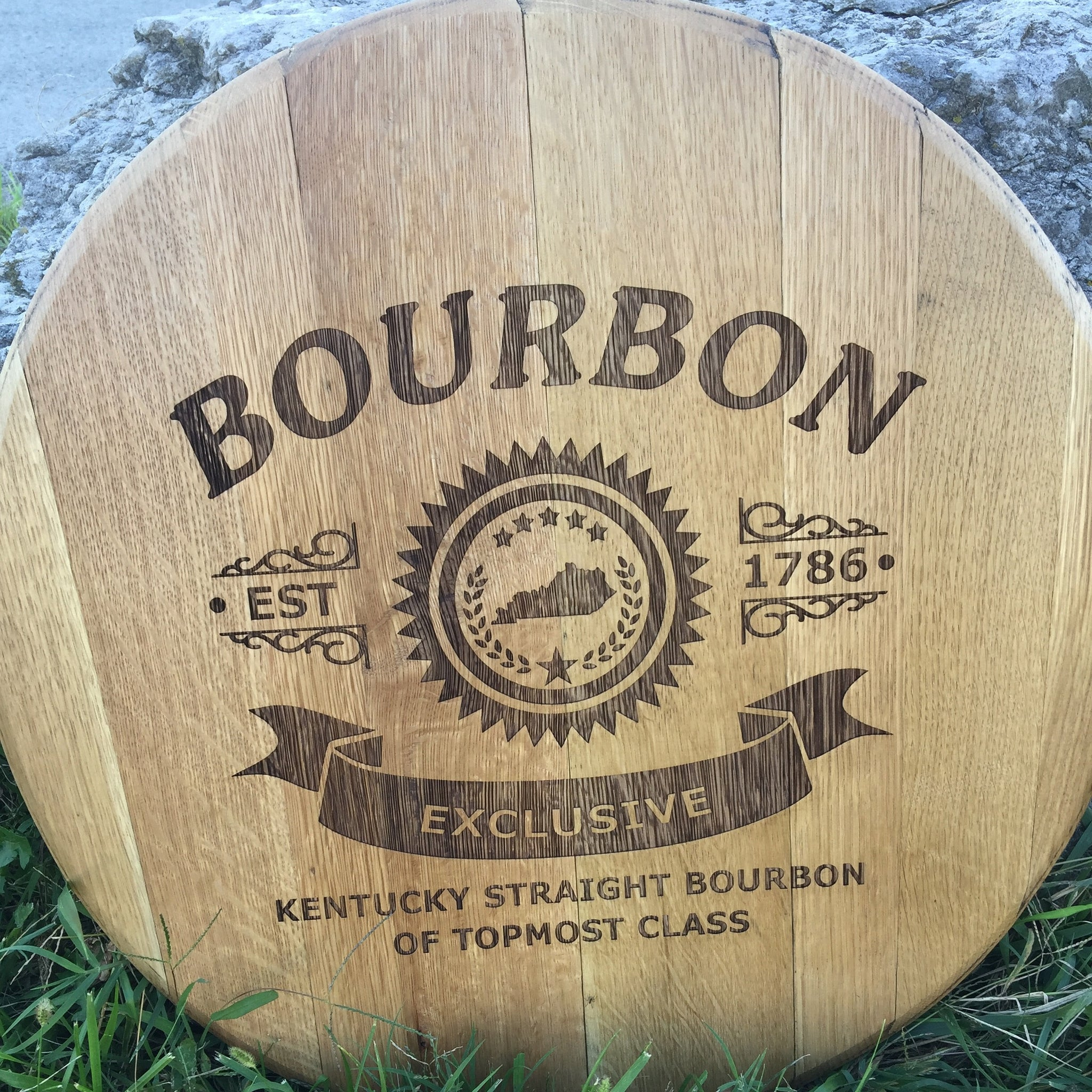 Bourbon Exclusive Barrel Head