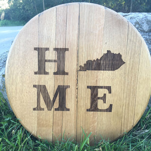 HOME Bourbon Barrel Head