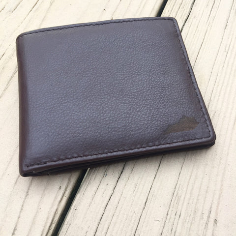 Leather State Wallet