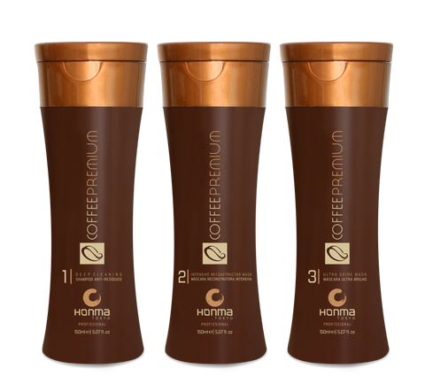 Kit Coffee Premium All Liss 3 X 150 ml