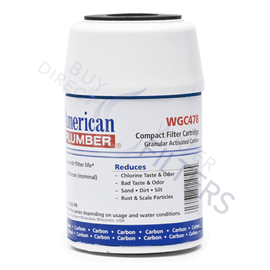 American Plumber Undersink Filter WGC478 - Buy Direct Water Filters