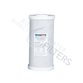 "Carbon Filter 10"" x 4.5"" 5 Micron - Watts"