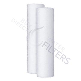 "GE 2.5"" x 10"" 25 Micron Whole House Sediment Filter - Buy Direct Water Filters"