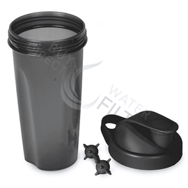 Geo Bottles 16oz Black Shaker Bottle - Buy Direct Water Filters