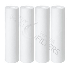 "Hydronix Sediment Water Filters 10"" x 2.5"" 4 Pack - Buy Direct Water Filters"