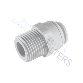 "John Guest 1/4"" Male Connector NPTF Thread - Buy Direct Water Filters"