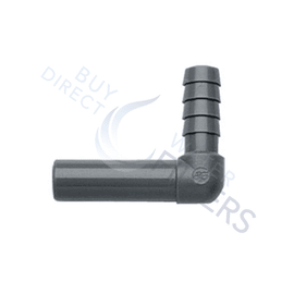 John Guest Stem to Hose Barb Elbow - Buy Direct Water Filters