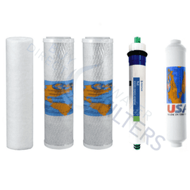 Kemflo 5 Stage Reverse Osmosis Filter Set - Buy Direct Water Filters