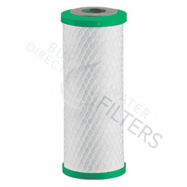 "Matrikx Chloraguard 10"" 1 Micron Green Carbon Block Filter - Buy Direct Water Filters"