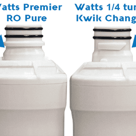 RO Pure 4 Pack Filter Kit - Watts Premier 531152