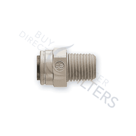 "Watts Premier Quick Connect Adapter 3/8"" Q x 1/4"" MPT"