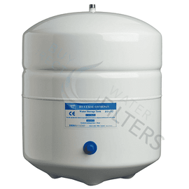 White Metal Storage Tank 3 Gallon 119007