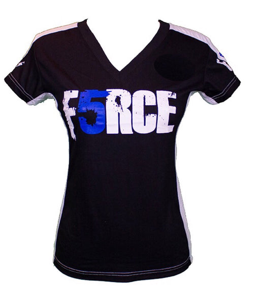 Force5 Black and White /  Woman T-shirt - Force5 Equipment