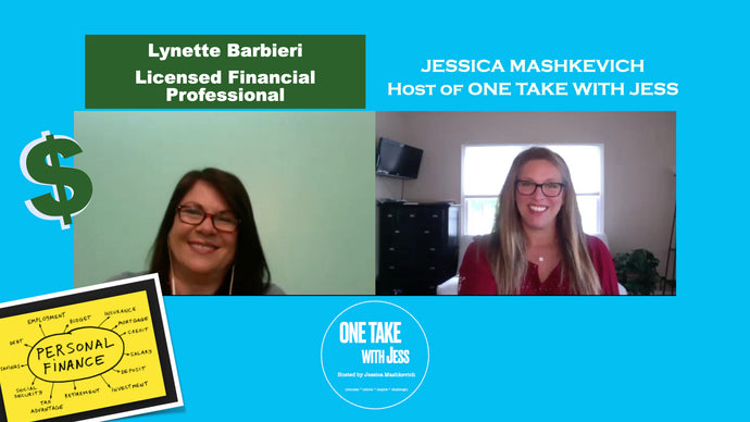 Lynette, Licensed Financial Professional, and Jess get up-close & personal with PERSONAL FINANCES
