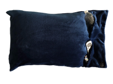 NEW throwbee PILLOWCASE 2.0 WITH SIDE POCKETS, yes SIDE POCKETS! - BLUE
