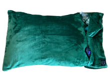 NEW throwbee PILLOWCASE 2.0 WITH SIDE POCKETS, yes SIDE POCKETS! - GREEN