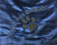 Kona Pet Blanket by Kona Benellie - BLUE