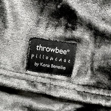 throwbee PILLOWCASE - Gray