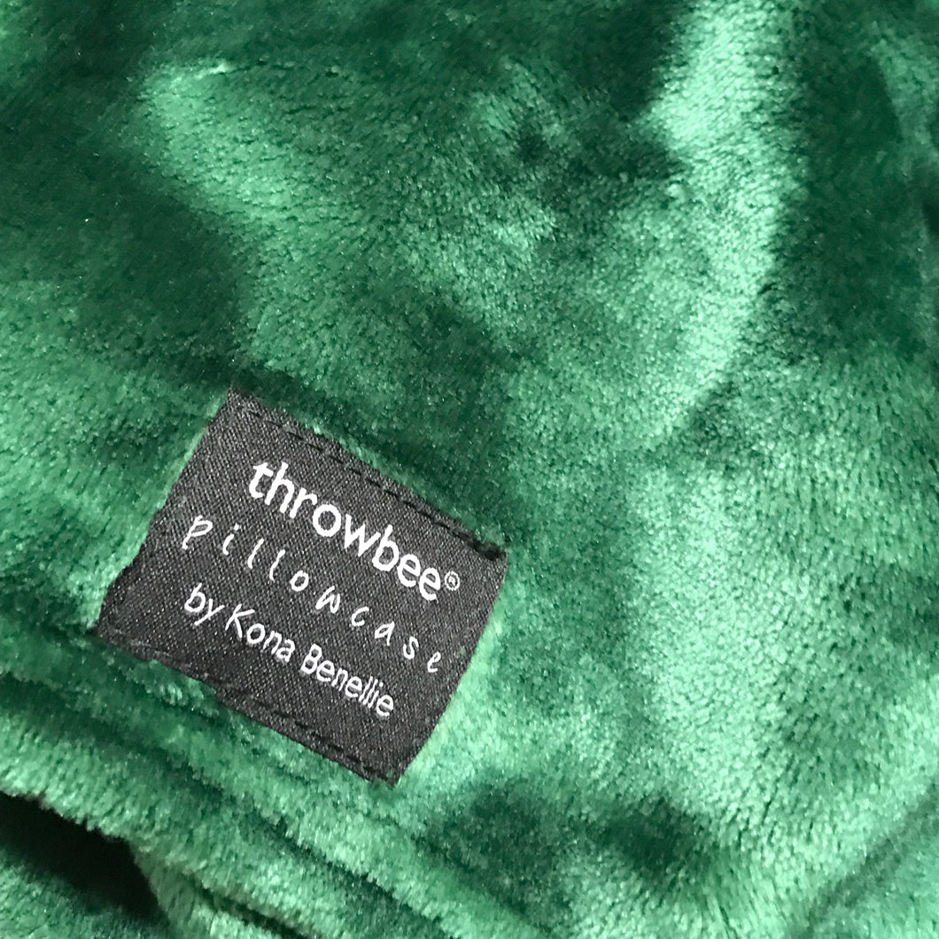 throwbee PILLOWCASE (Classic fitted) - Green