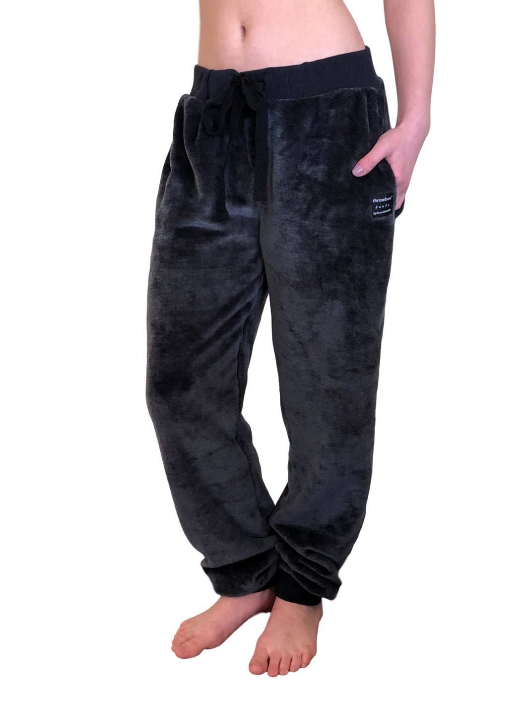 throwbee Blanket-PANTS - Gray (unisex)