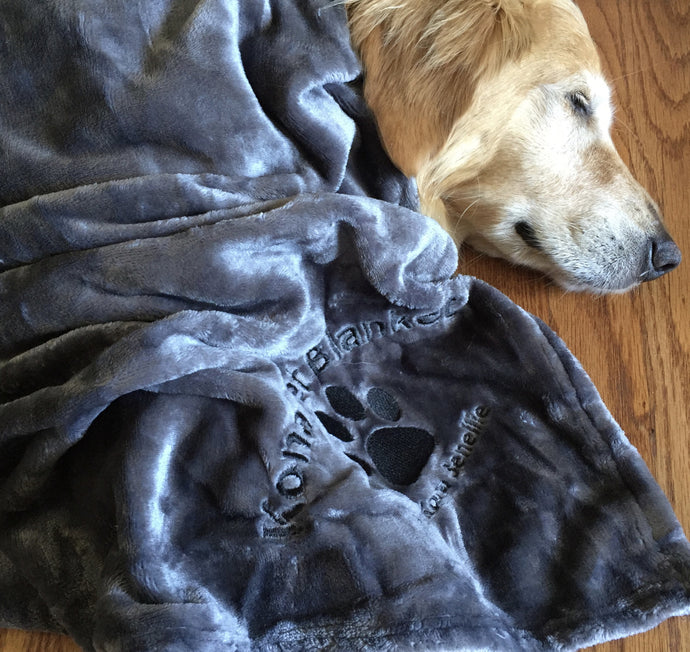 Kona Pet Blanket by Kona Benellie - GRAY