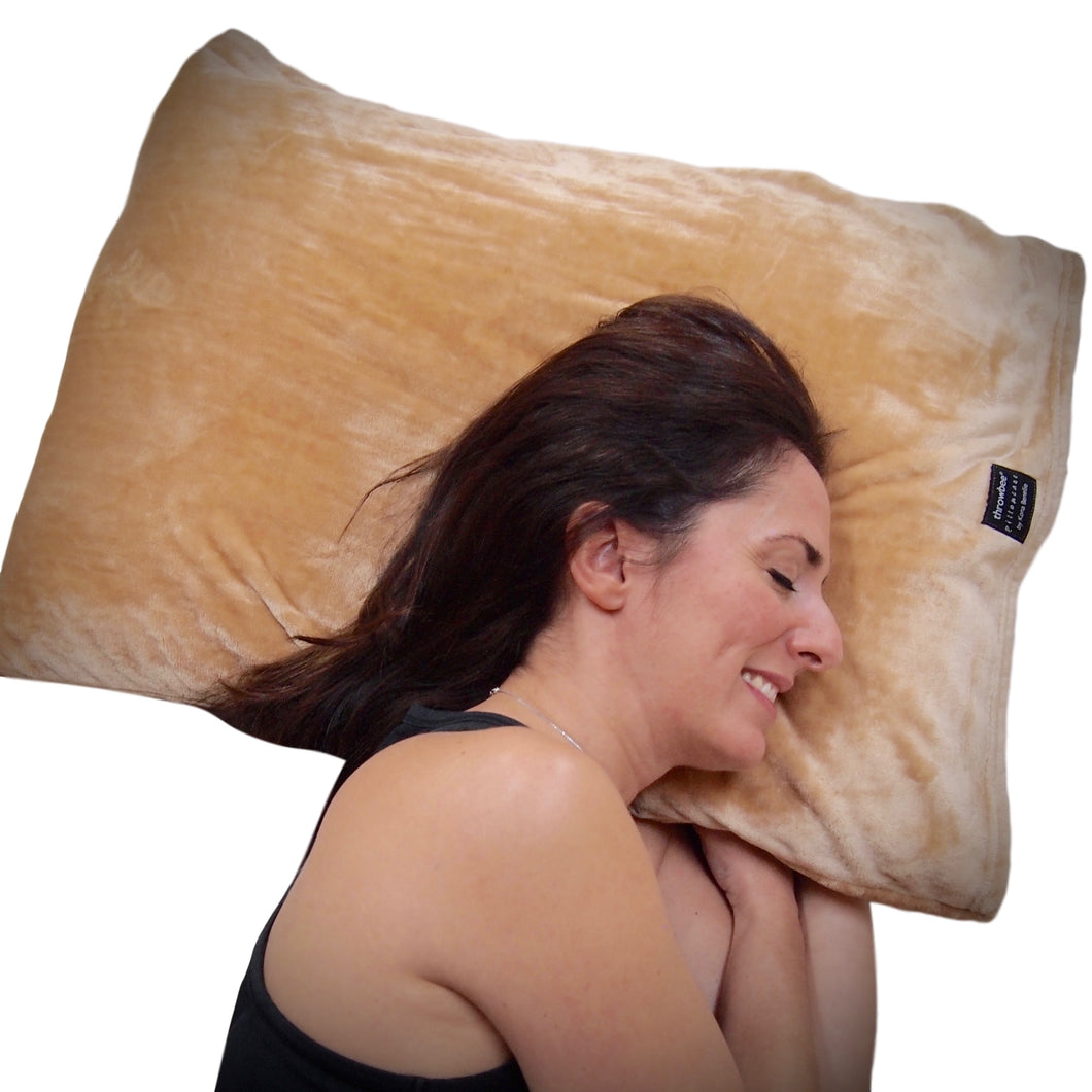throwbee PILLOWCASE (Classic fitted)  - Beige