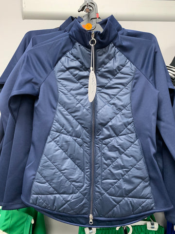 Navy Greg Norman Quilted Jacket