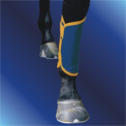 Magnetic shin/tendon boot
