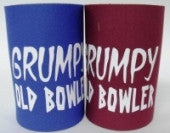 Grumpy Old Bowler Stubby Holder