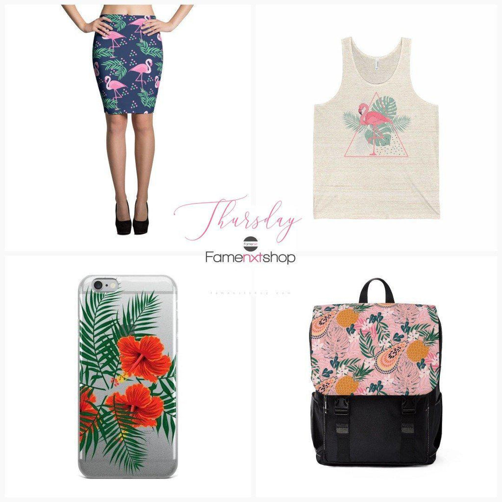 7 Summer Outfits for 7 Days of Week- Tropical Thursday