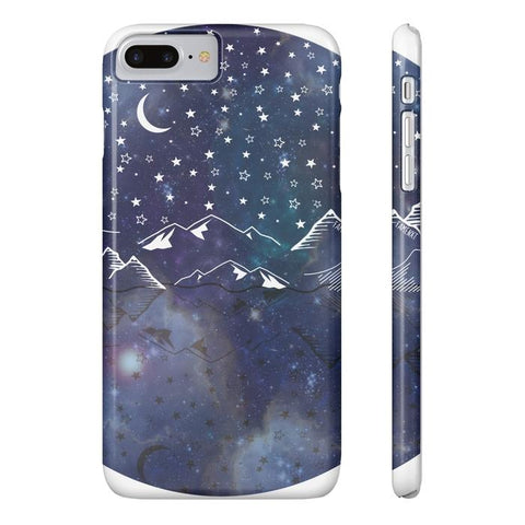 Beautiful Starry Night Tough and Slim Phone cases