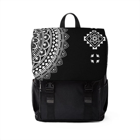 Half Mandala from my15bohemianart Collection Unisex Casual Shoulder Backpack [famenxstshop.com]