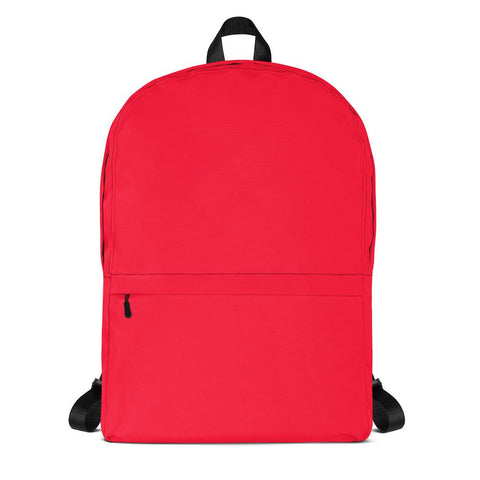 Torch Red Backpack from Solid Color Series [famenxtshop.com]